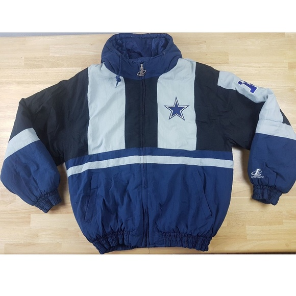 Logo Athletic Mens Large Dallas Cowboys Coat  693421d0a